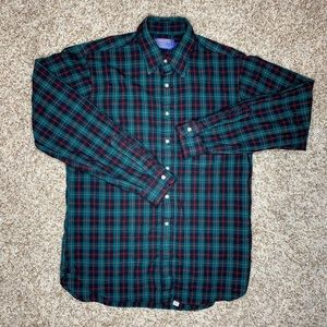 Pendleton Plaid Check Wool Button Down Shirt